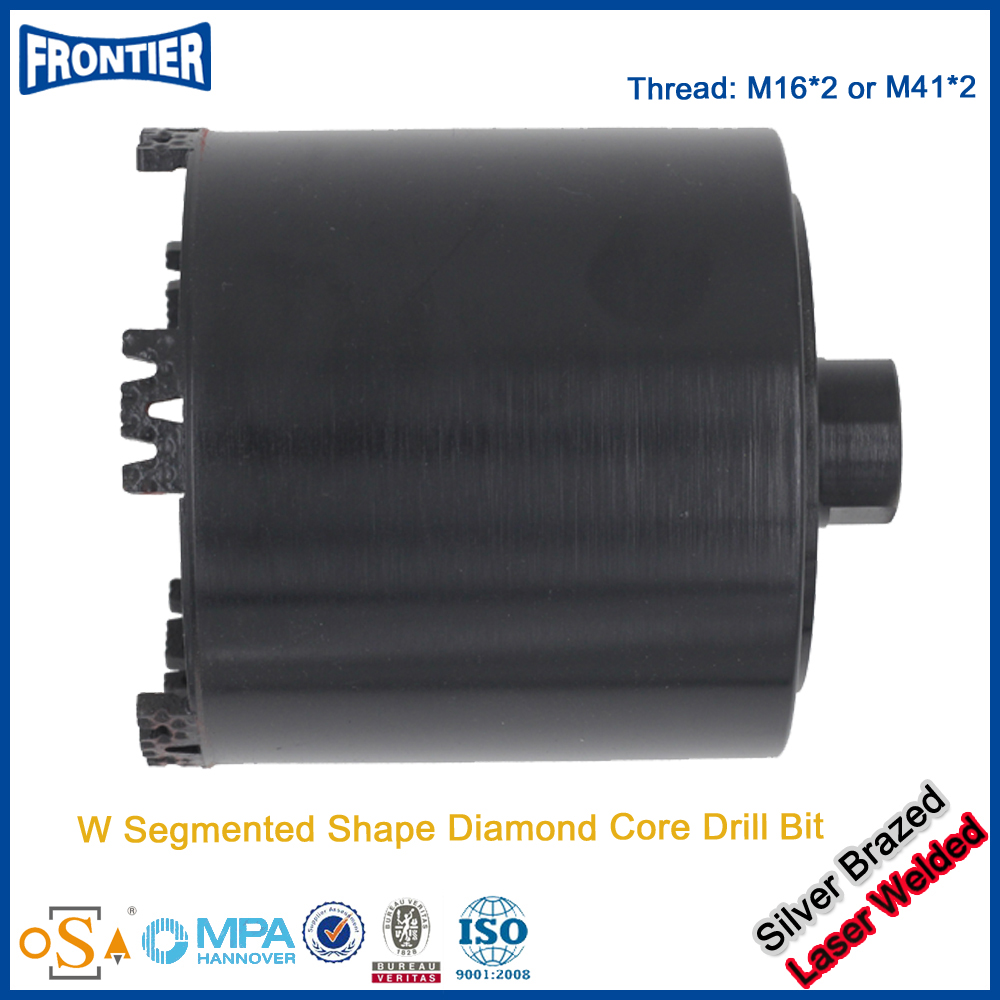 The Newest hot sell taper shank diamond core drill bit