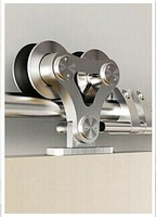 Stainless steel wardrobe sliding bardn door hardware fittings