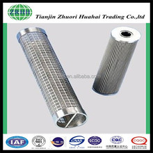 stainless steel material Hydraulic Oil Filter for truck forklift