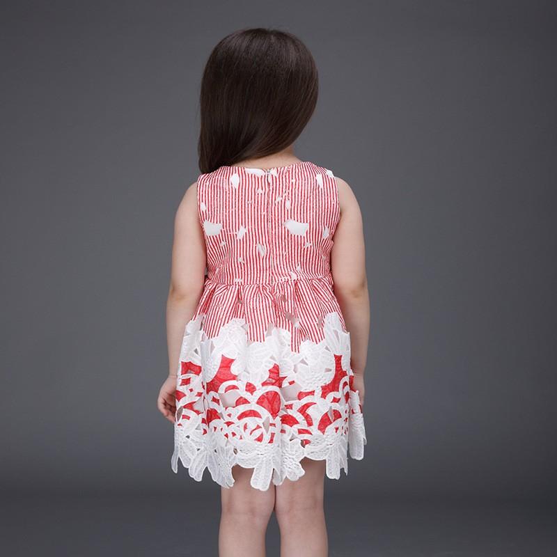 Niños ropa wholese niñas vestidos vestido del verano de la manera ...