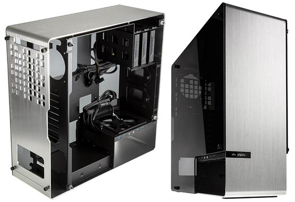 Sheet metal aluminum gaming computer pc chassis