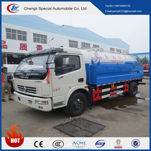 dongfeng 4m3 Vacuum pump sewage suction truck for sale/ sewage truck for sale/sewage suction tanker truck