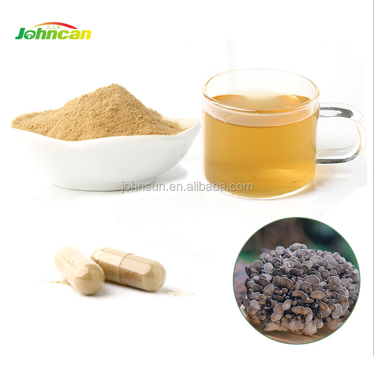 wild maitake mushroom extract powder and various polysaccharide for anti-cancer