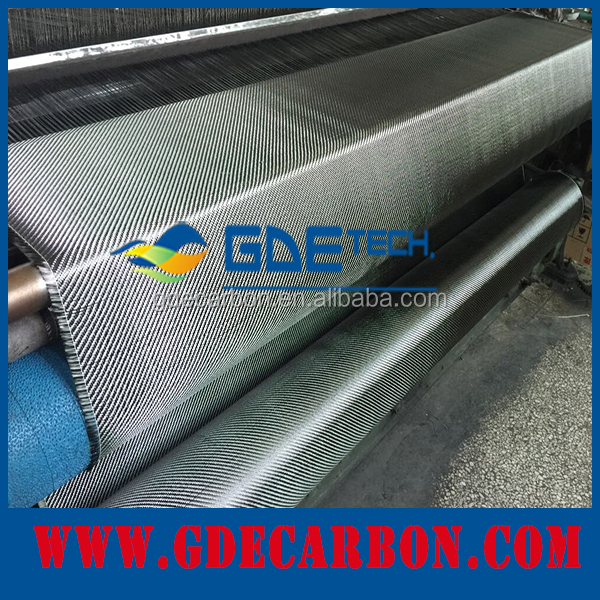 GDE carbon fiber electric conductive fabrics carbon fiber heating cable carbon fiber fabric