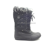 black nice girl shoes fuzzy winter boots