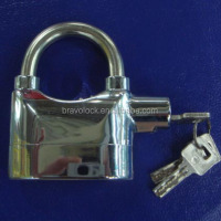 Silver color siren alarm lock 115dba OEM accepted