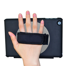 360 Degree Rotation Handhold Leather Case for iPad mini 1 2 3