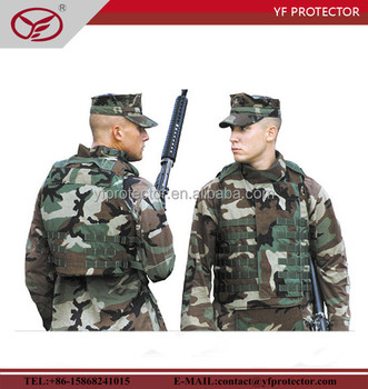 ballistic vest for sale/bulletproof vest suitable for military with USA standard