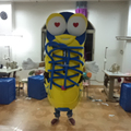 HOLA shoes mascot costume/shoes costume for adult