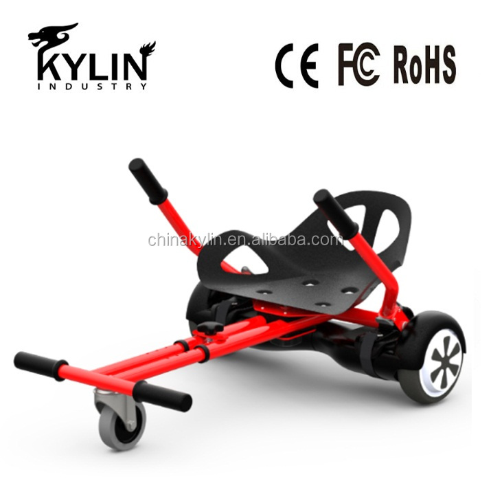 2016 cool mini kart hoverboard accessory two wheels smart electric scooter go kart Sitting Chair