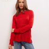 Autumn Loose Shoulder Pullover Woman Sweater