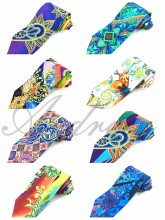Silk digital printing neckties cravat ties