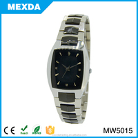 stainless steel material square case watch,quartz brand name watches