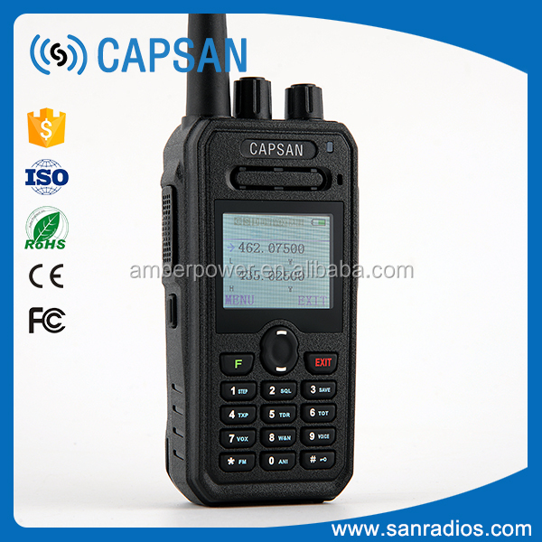 Wholesale basic dual band radio uhf/vhf with wireless tour guide system