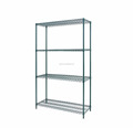 Green Epoxy-Coated Storage Wire Shelving Adjustable Steel Wire Shelving Storage Rack Shelves