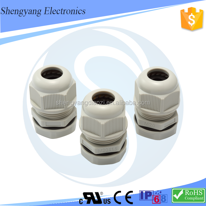 SY New Flexible Cable Gland with Cable Gland Size Picture PG,M,G,NPT Metric Type Cable Gland