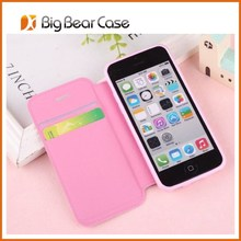 For iphone 5s case wallet card-slot pu leather cell mobile phone case