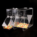 fashion clear acrylic cereal dispenser,3 tiers acrylic candy box