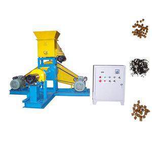 2019 Hot Sale Good Price China Twin Screw Extruding Pet Food Snack Machinery Dog Feed Pellet Make Machines