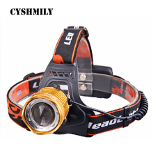 CYSHMILY Rechargeable 18650 Battery 10W Waterproof Fishing High Power Portable Sports Outdoor Camping LED Head Light