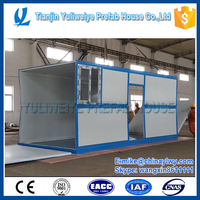 Fast assembly Typhoon shelter use folding house container