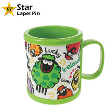 Bulk Souvenir Promotional Custom PVC Rubber Plastic coffee mug for Kid