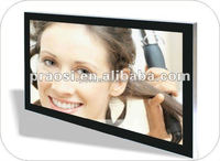 "cheapest large size lcd monitor 23"" touch screen frame digital video 1080p photo for bathroom advertising"