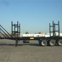 Flat Bed Container Used Truck Trailer