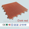 Outdoor Interlocking Plastic PP Sport Court Floor for Table Tennis / Basketball
