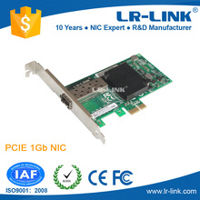 LREC6220PF-SFP Intel 82575EB Chipset PCIe x1 Gigabit 1000Base-FX SFP Fiber Optical Network Card