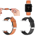High Quality Genuine Leather with TPU Watch Band for Apple Watch Series 3
