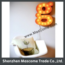 decorative wall letter led sign lighting business name