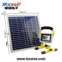 Hooree SL-330A 5W LED Solar Light wholesale High Lumens Portable Camping Emergency Light