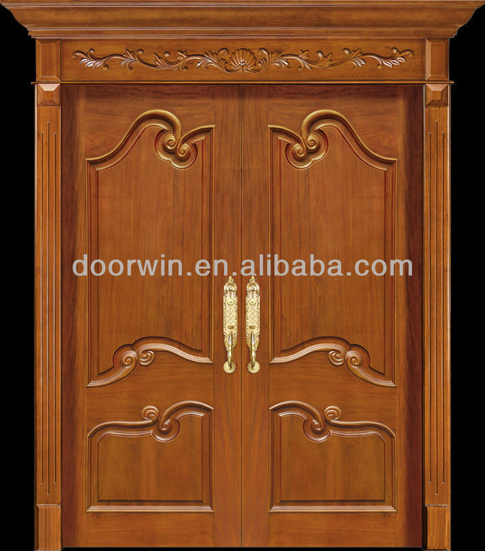 Latest modern teak wood main door designs buy wood door for Modern design main door