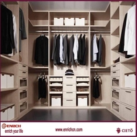 DIY internal wardrobe storage in china