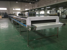 Touch Screen Cost Saving jelly making machine Cooling Tunnel Machine For Production Line