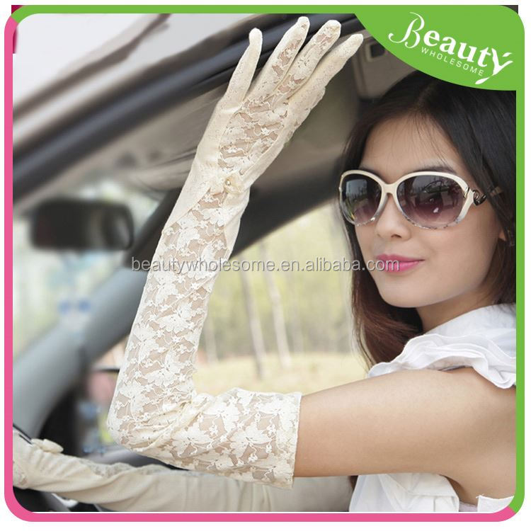 gloves importers ,H0T028 women gloves fingerless , cheap price ivory wedding gloves