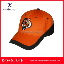 orange/black top promotion snapback hat