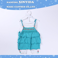 Durable new coming boutique jersey baby clothing set