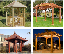 used chinese wooden gazebo for sale