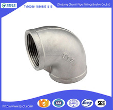 316l Stainless Steel BSP Female Thread Reducing Pipe fitting Elbow