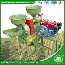 WANMA3449 High Functional Reliable Diesel Engine Rice Milling Machine