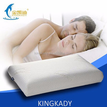 2015 HOT SALE King Size Slow Rebound Memory Pressure healthy sleeping bolster pillow cases embroidered,Couples bed sleep Cushion