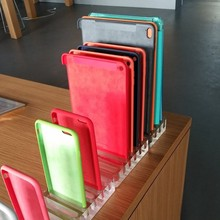Shenzhen KOU retail good quality embedded clear acrylic stand for ipad mini case display