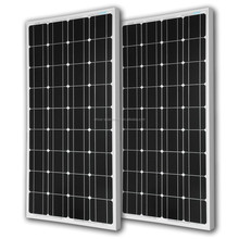 Solar power plant kit 160w mono photovoltaic solar module