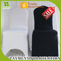 hot sale hotel white banquet wedding party spandex chair cover