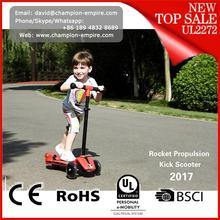 Three Wheel Smart Balance Electric Scooter 2017 new scooter sprayer rocket kids kick scooter for sale