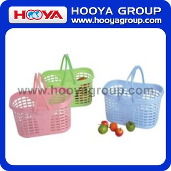 24.5*15.5*15CM Rectangular Shopping Basket With Handle