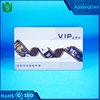 2016 new products matte surface Prepaid debit id card RFID PVC Card with chip for identification