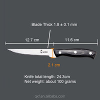 Stainless steel Kitchen Cooking Concepts Stainless-Steel Steak Knife
